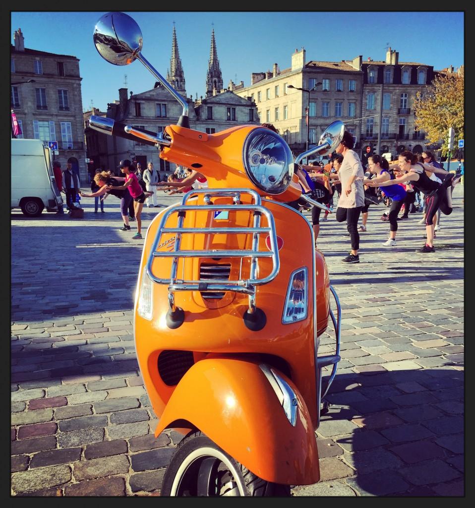 Vespa à Bordeaux