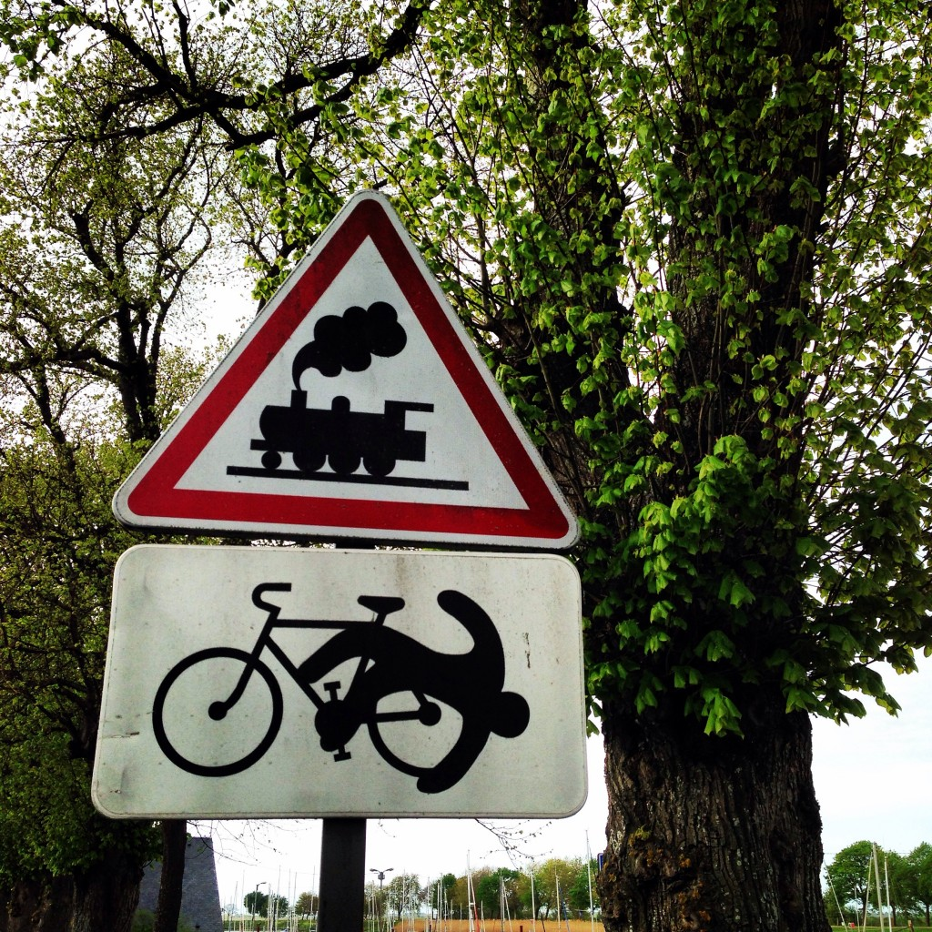 Panneau bizarroïde en Picardie