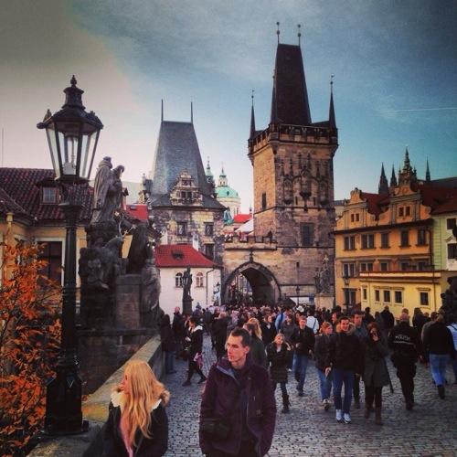 Une jolie journée d'automne à Prague