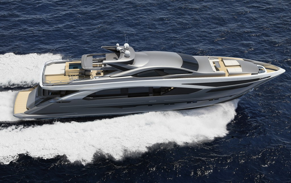 Amer 136 superyacht