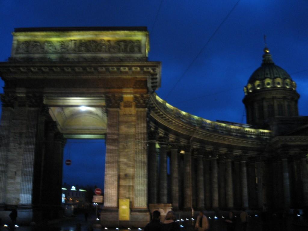 La Cathédrale Notre Dame de Kazan à Saint-Petersbourg