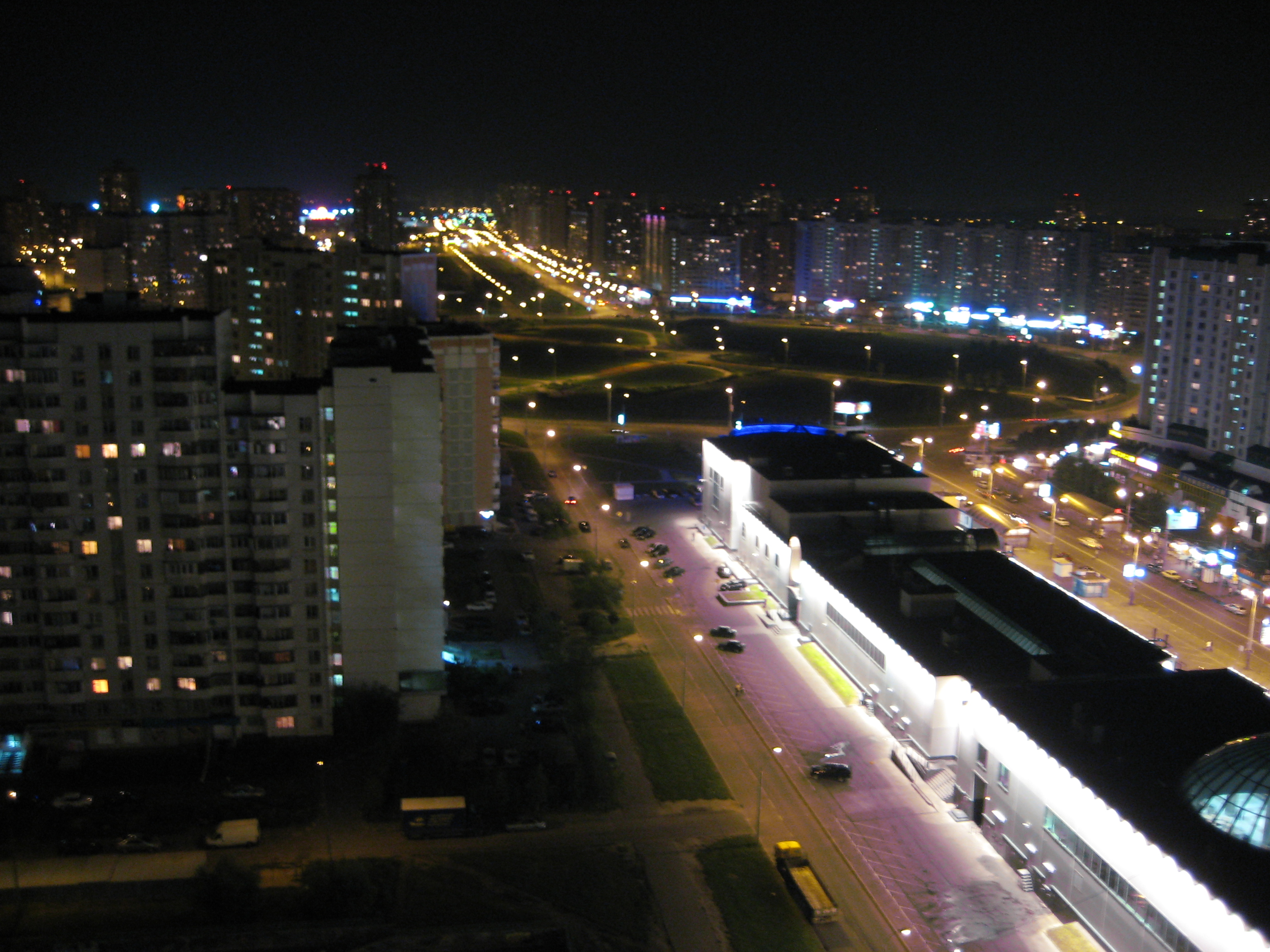 Moscow sleeping aera