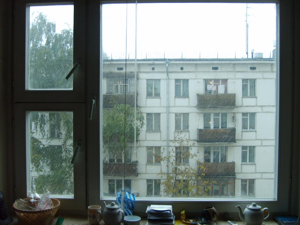 un dimanche pluvieux à Moscou