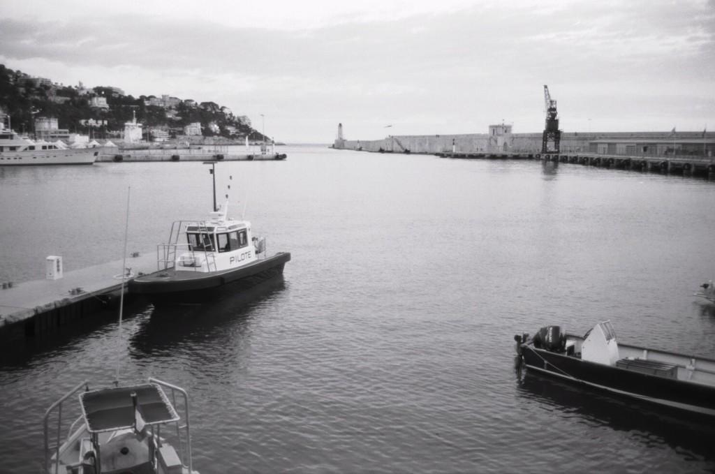 Le port de Nice est bien protégé