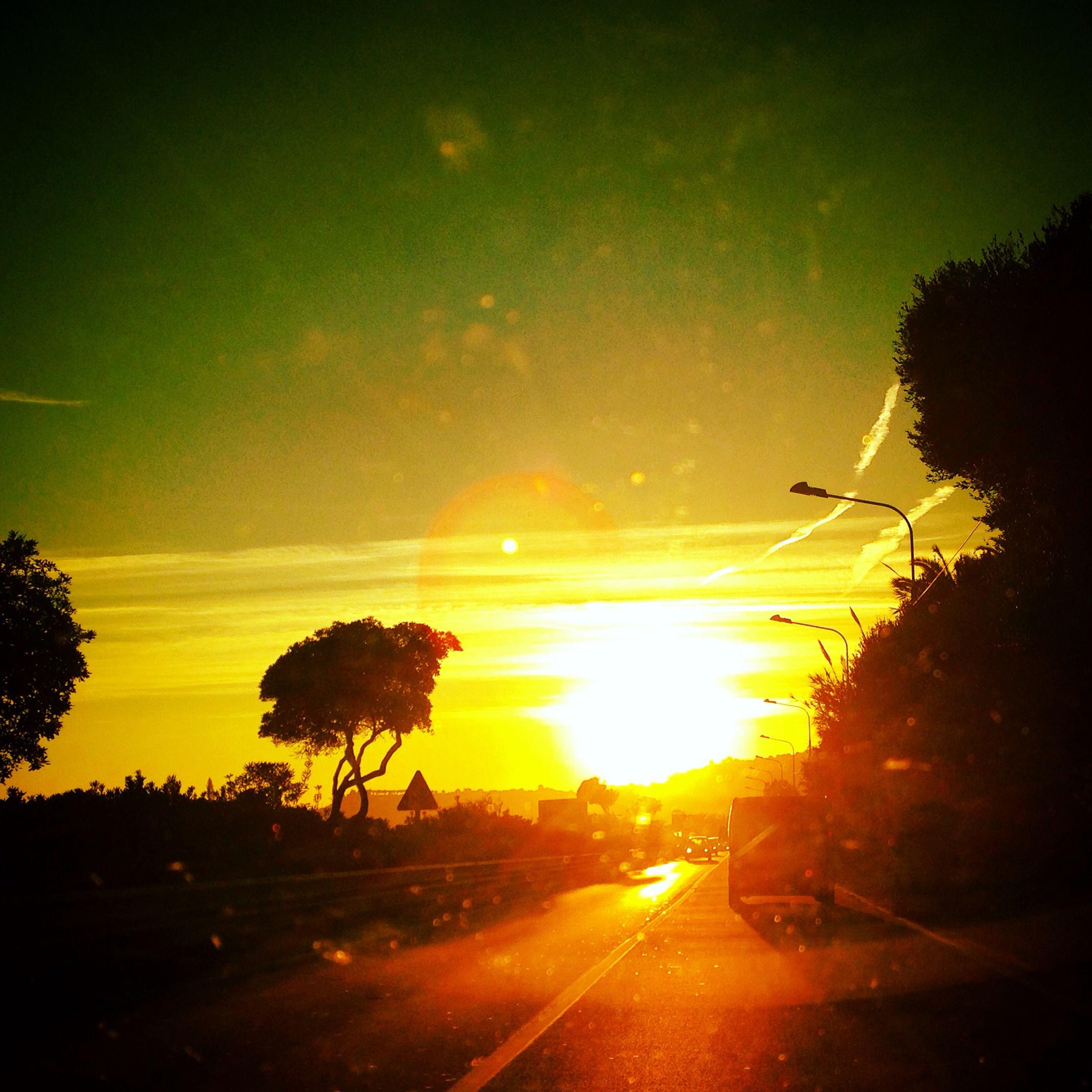 Sur la route en Italie