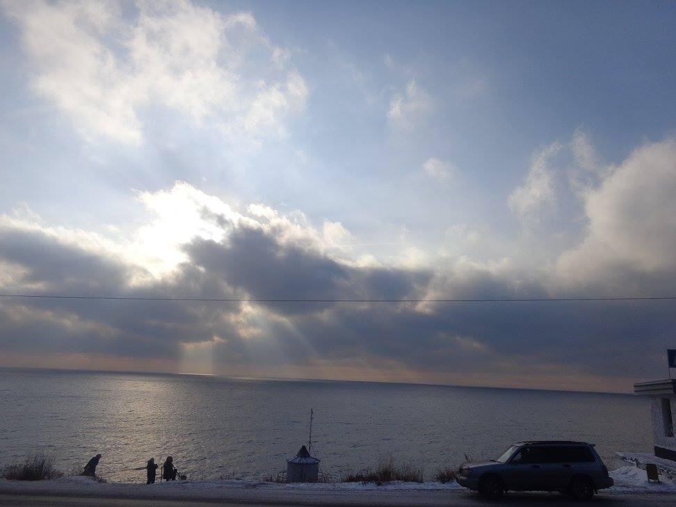Le Lac Baïkal en Russie, l'un de splus grands lacs du monde