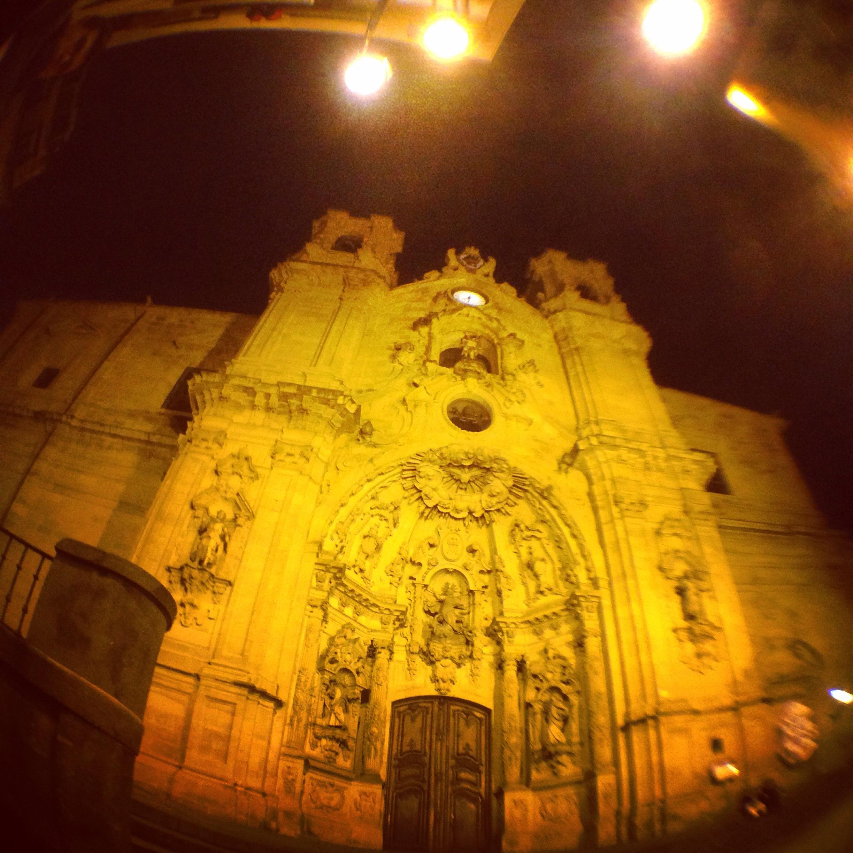 Une église de San Sabastian aux accents napolitains