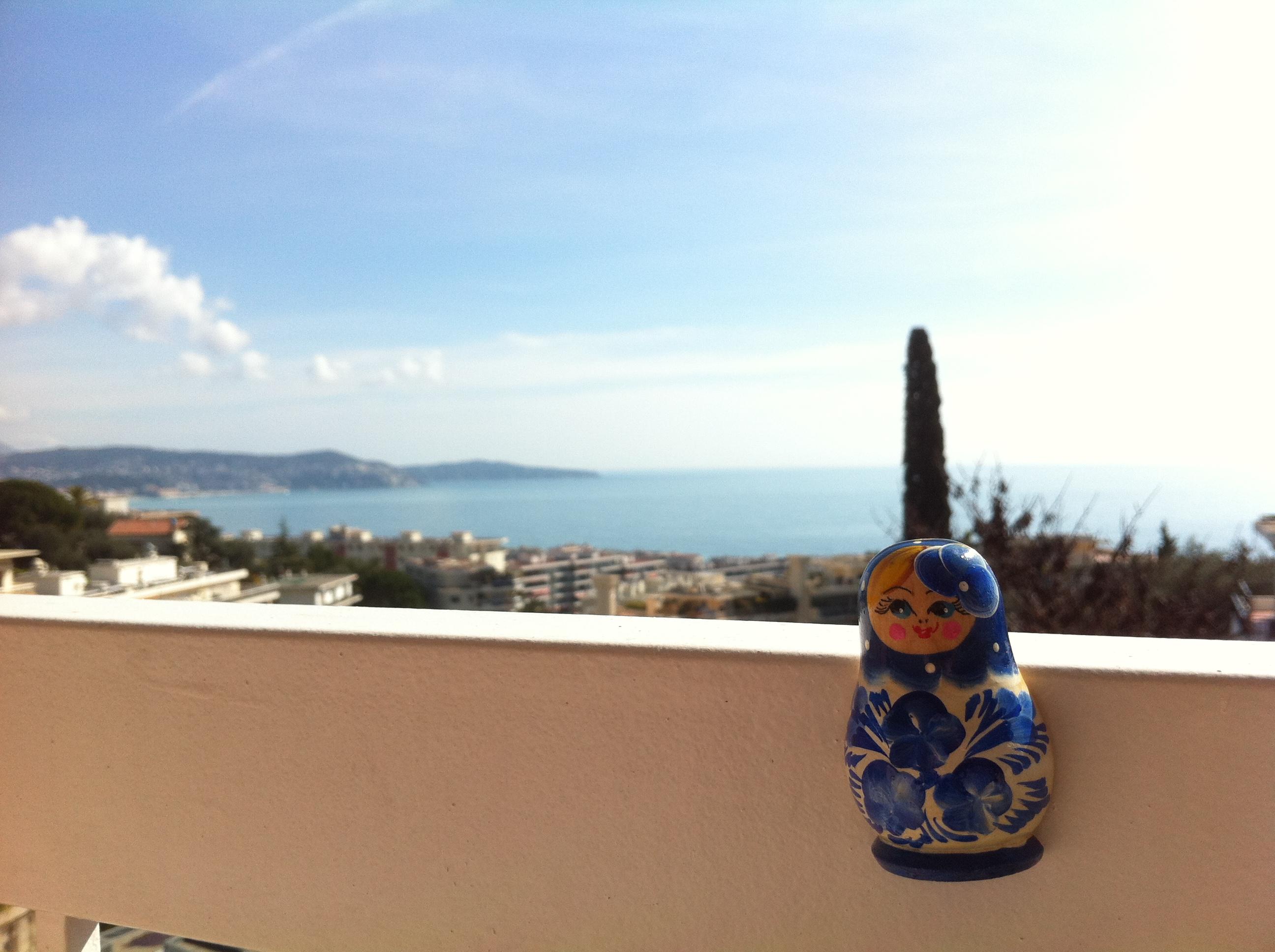 La diaspora russe aime la ville de Nice