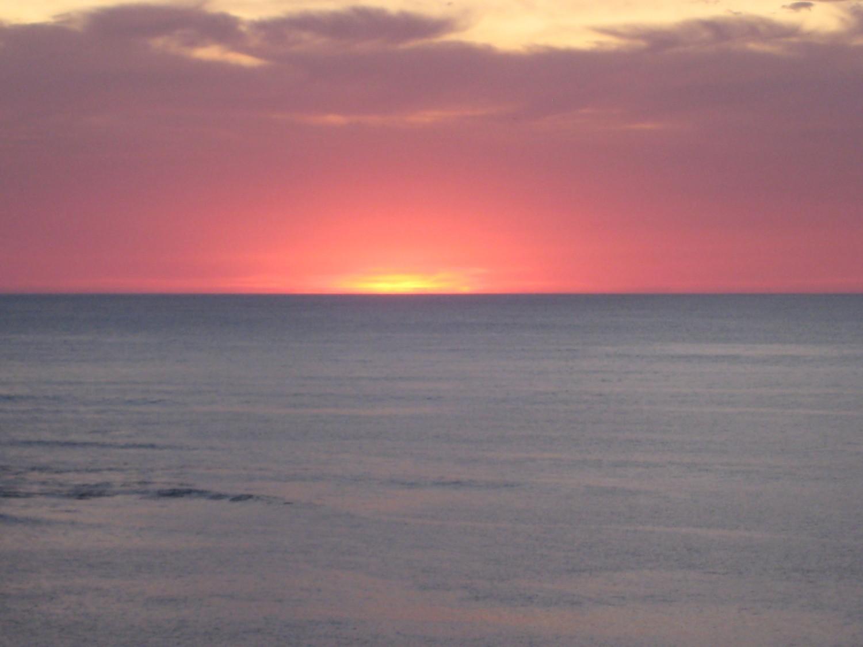 not comment - coucher de soleil au pays basque