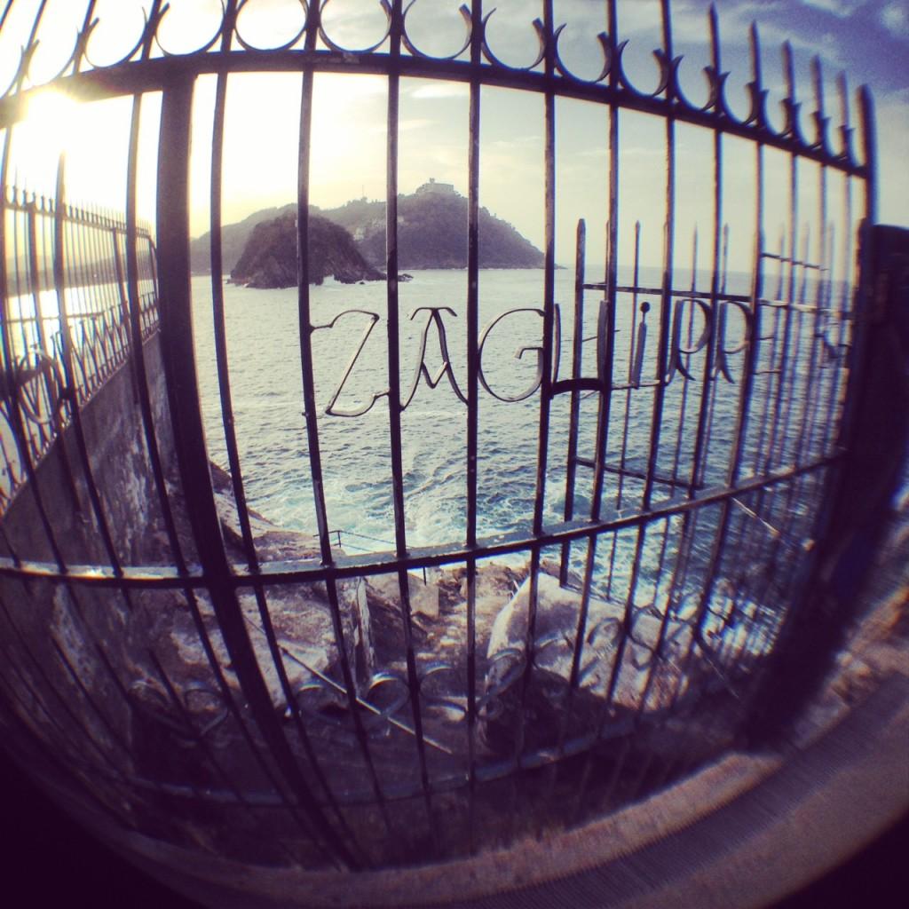 vue sur la baie de la Concha San Sebastian
