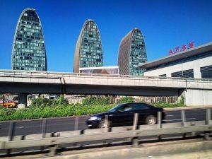 La gare nord de Pékin
