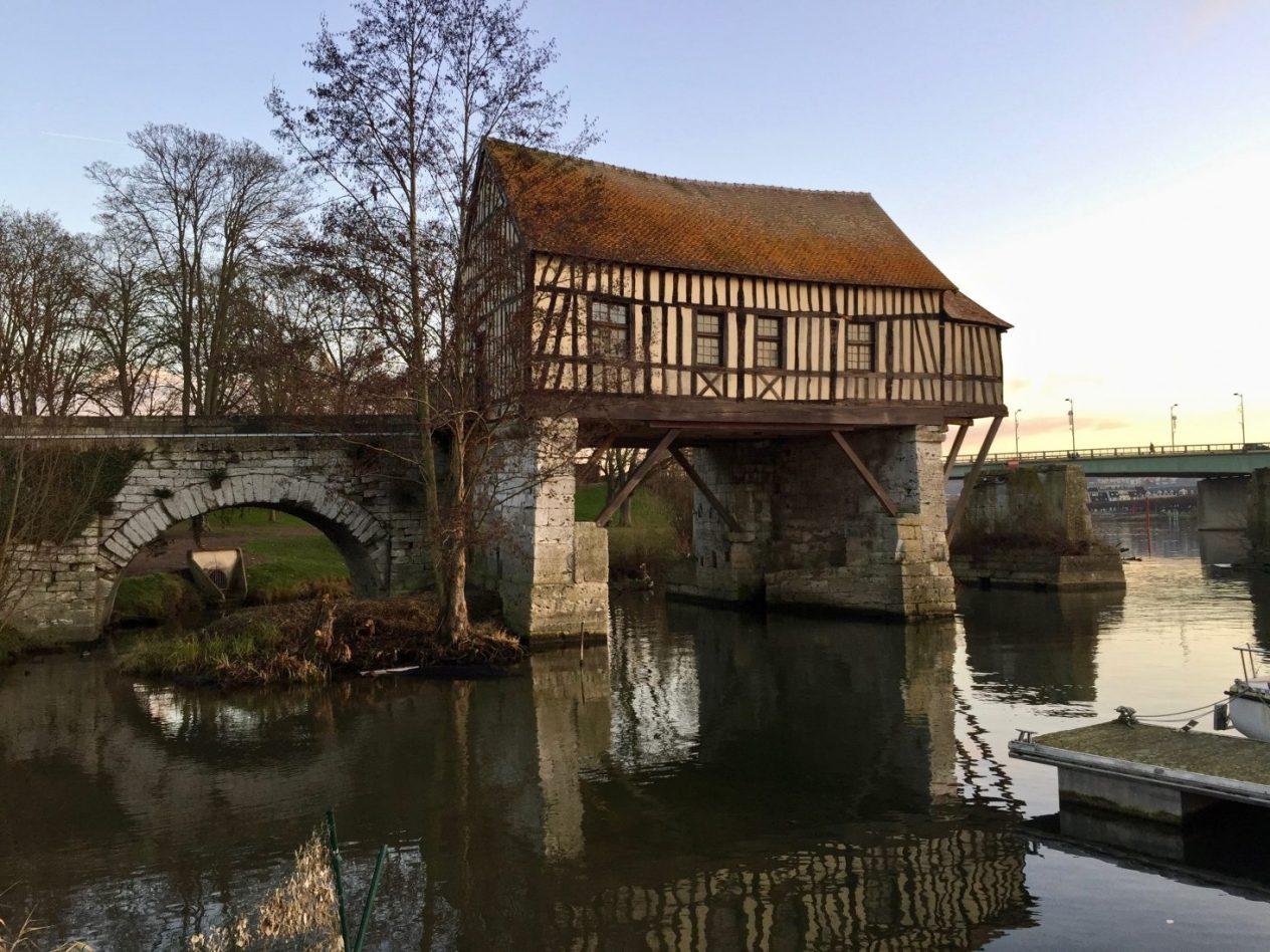 La maison de Vernon dans le Val d'Oise