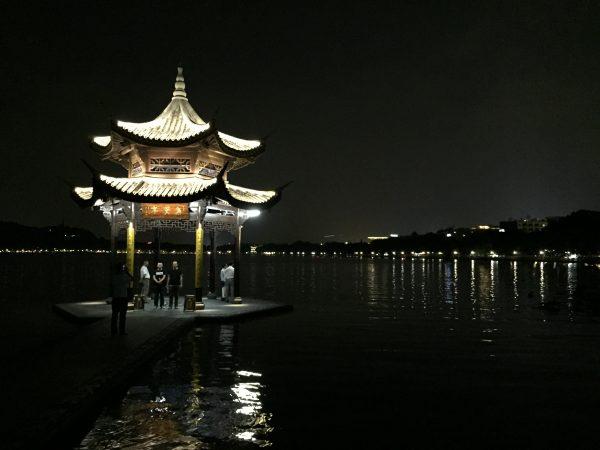 Splendide ville d'Hanzhou en Chine, le terminus de la route de la soie, l'une des plus belles routes du monde mais l'une des plus longues