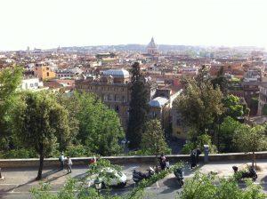 Vue sur Rome l'une des plus belles villes d'Italie