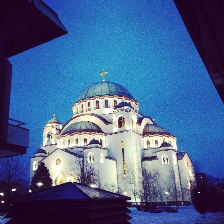 Cathédrale Belgrade