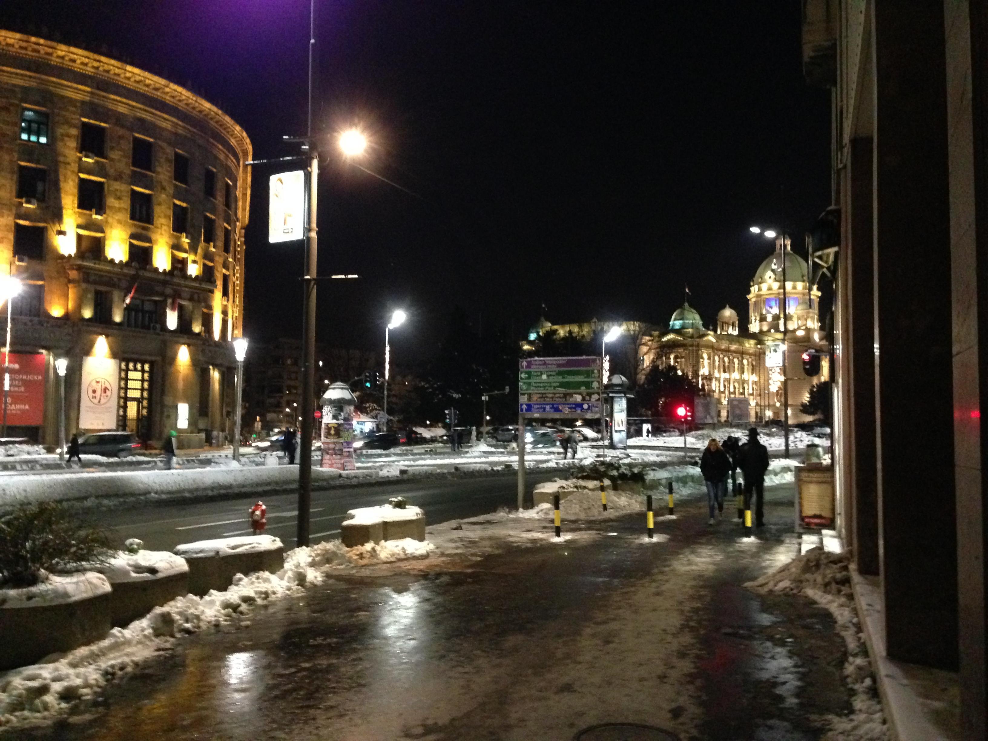 Centre ville, Belgrade