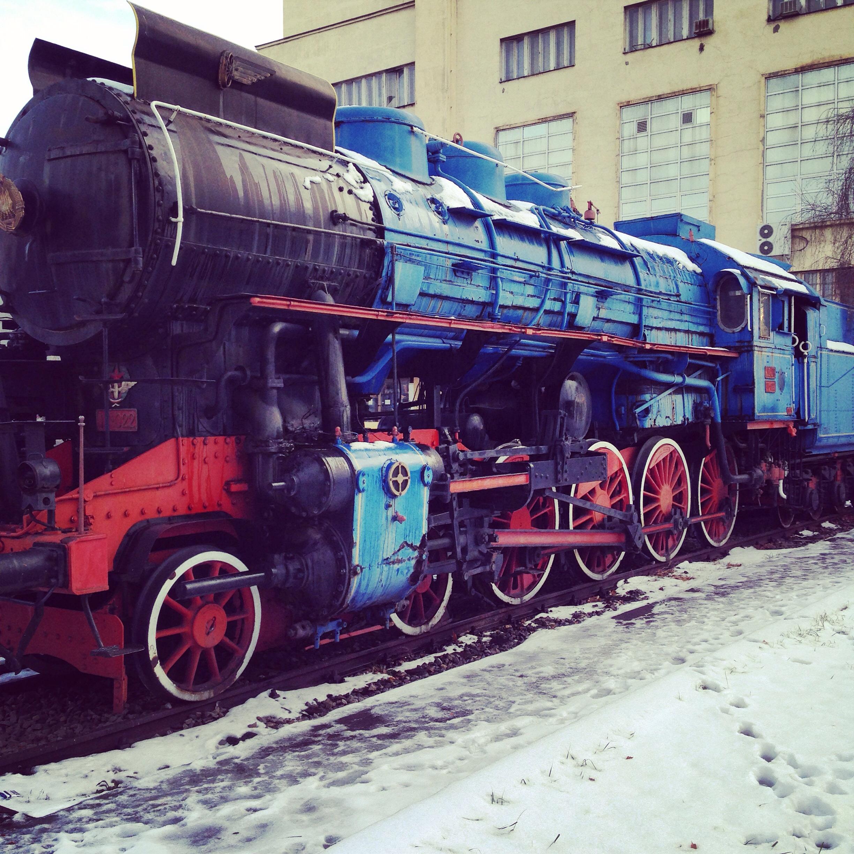 Une locomotive d'époque