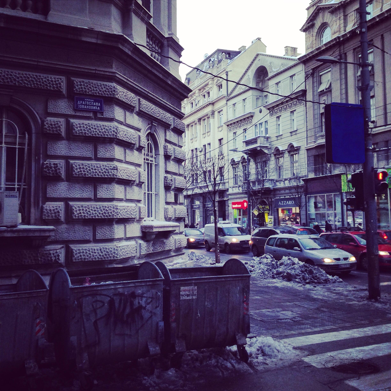 Belgrade centre