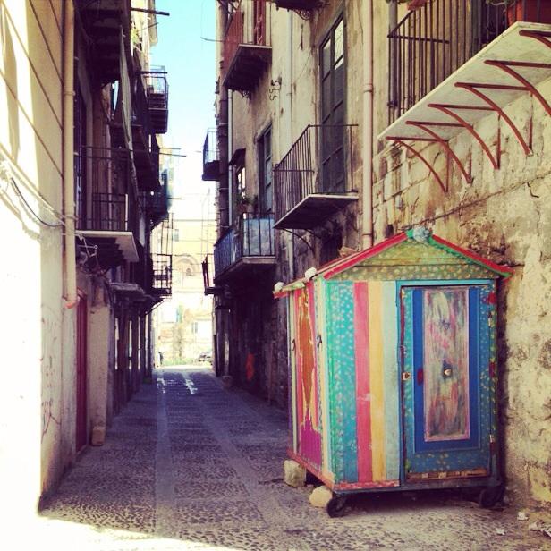 Une petite cabane à Palerme
