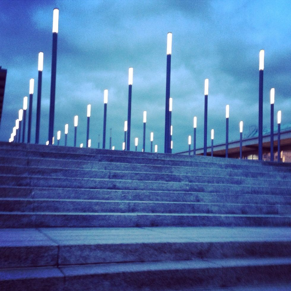 Le parc des expositions à Hanovre