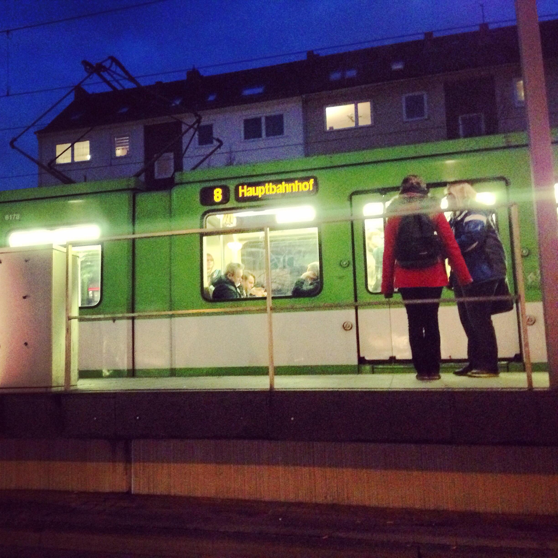 Le tramway-métro d'Hanovre