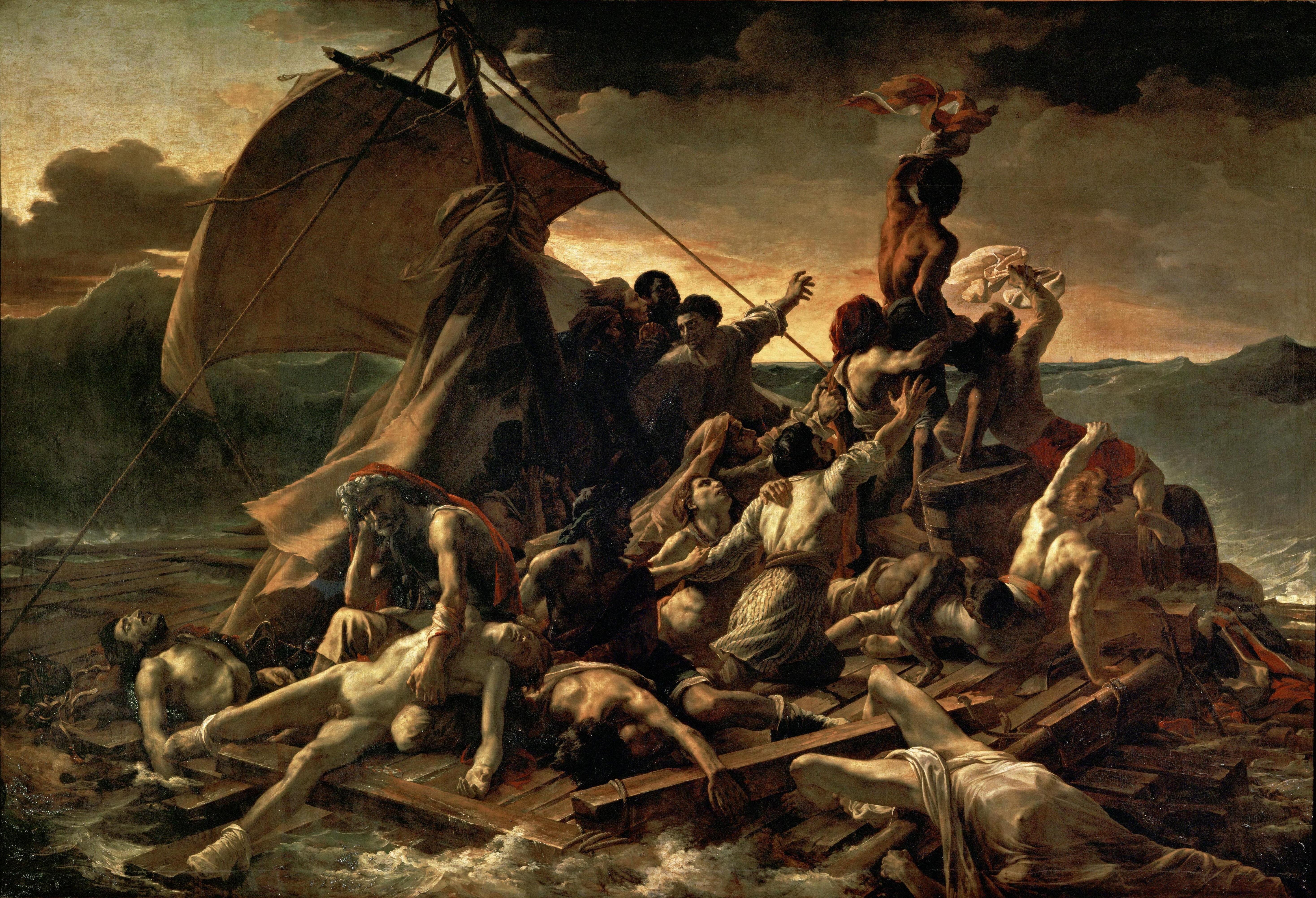 Le naufrage et la maîtrise de Géricault