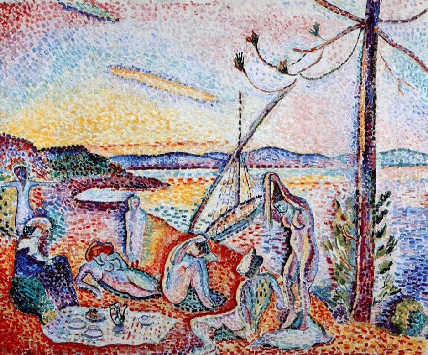 Peinture de Matisse à Saint-Tropez