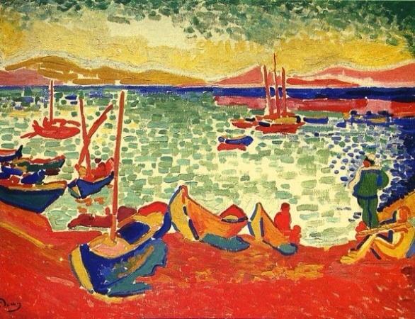 André Derain peint Collioure