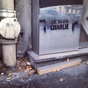 #jesuischarlie Boulevard Beaumarchais