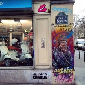 #jesuischarlie homage du street art aux victimes de janvier 2015