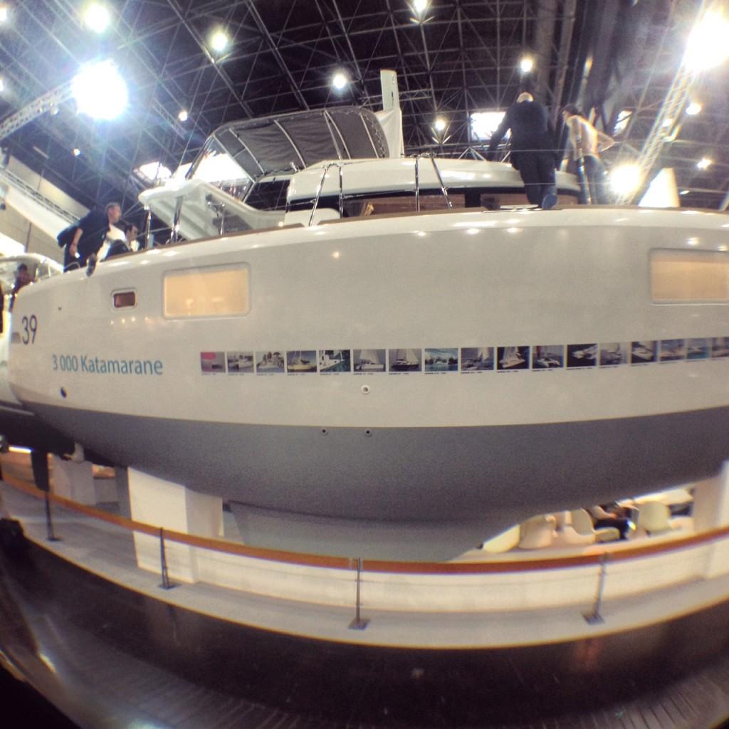 La coque du catamaran Lagoon 39