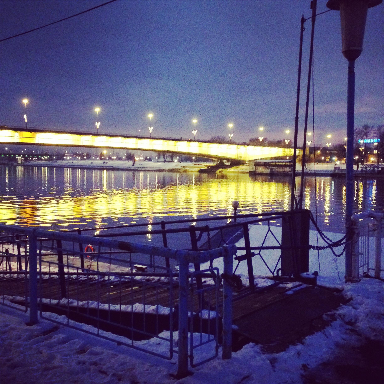 Le Danube bleu de nuit
