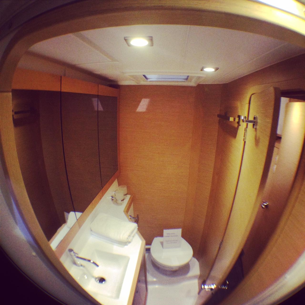 Les WC du lagoon 39