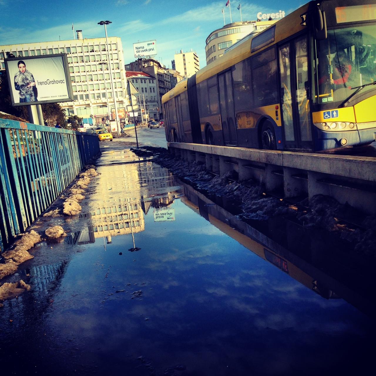 reflets Belgrade