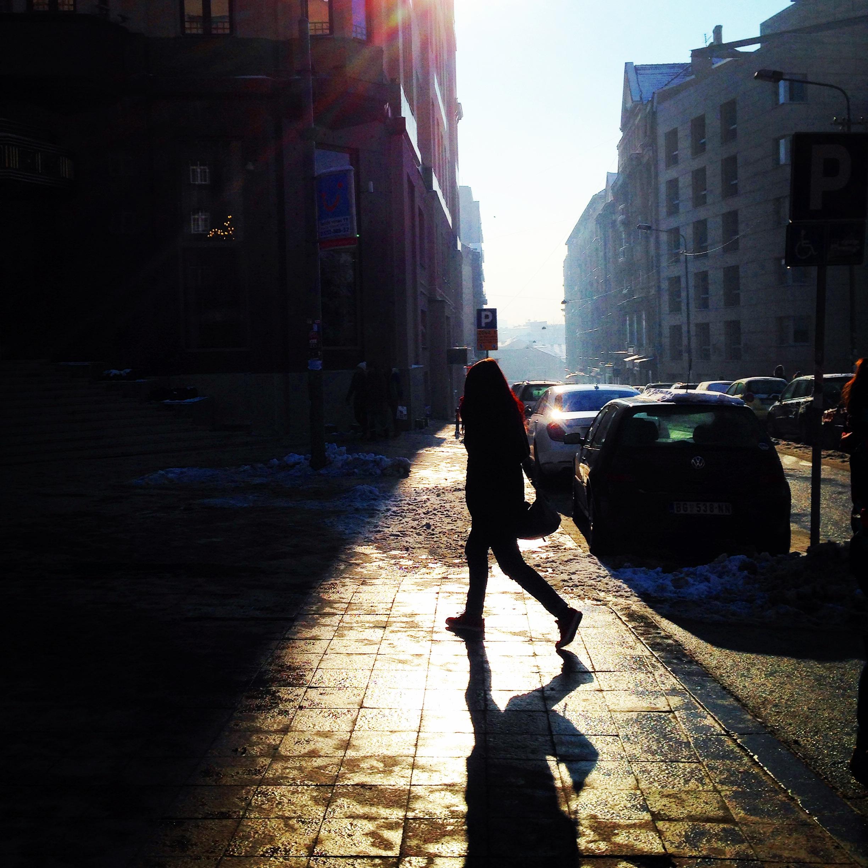 scène de rue, Belgrade