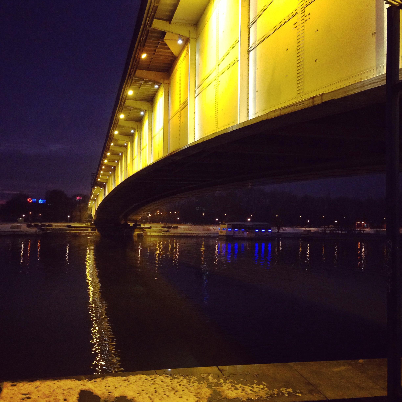 Un pont sur le Danube, Belgrade