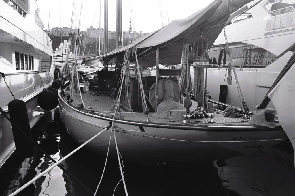 Yacht from Monaco