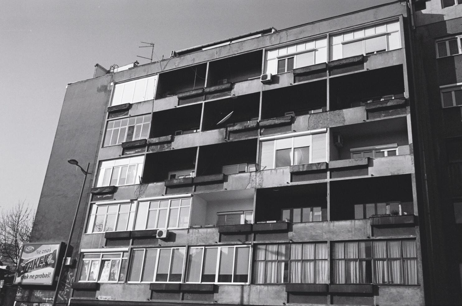 Architecture à Belgrade