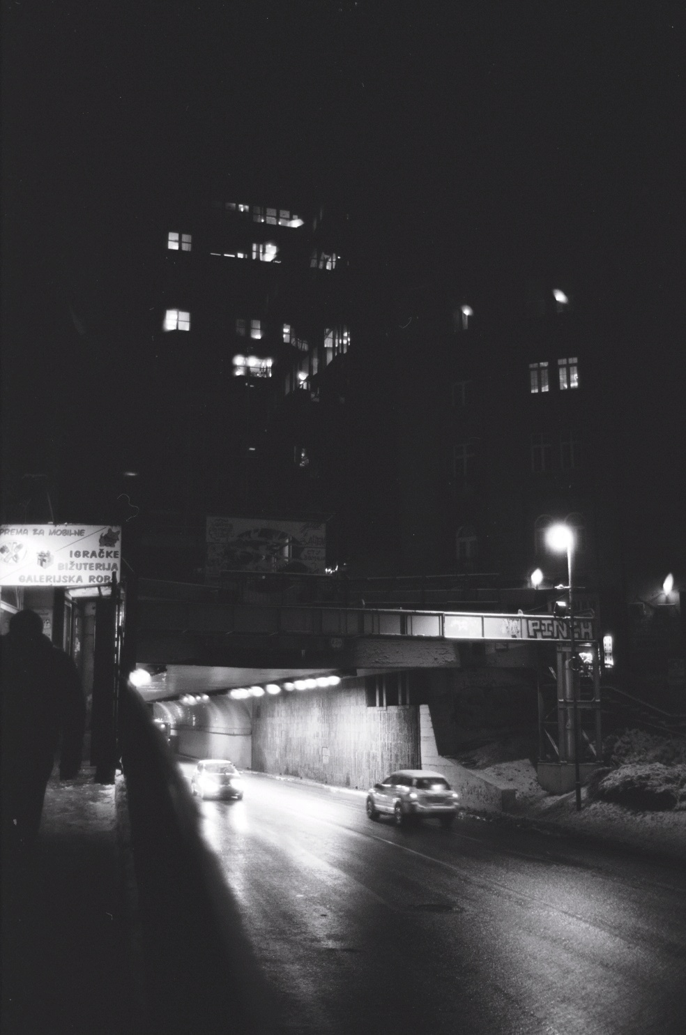 Belgrade la nuit