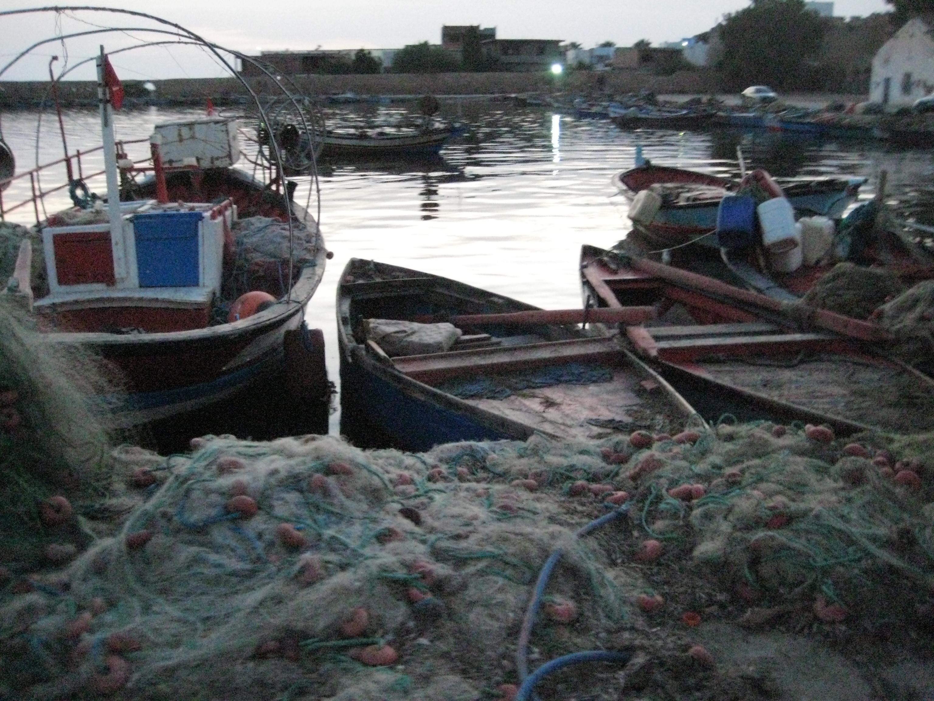 La fin d'une journée au Nord de la Tunisie