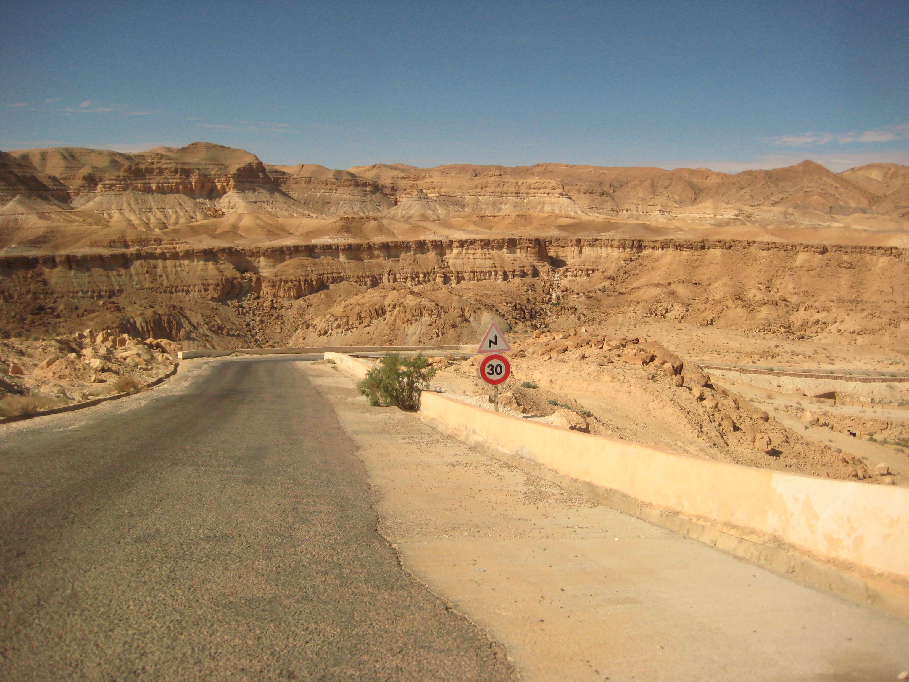 Les contreforts du désert, le pré Atlas