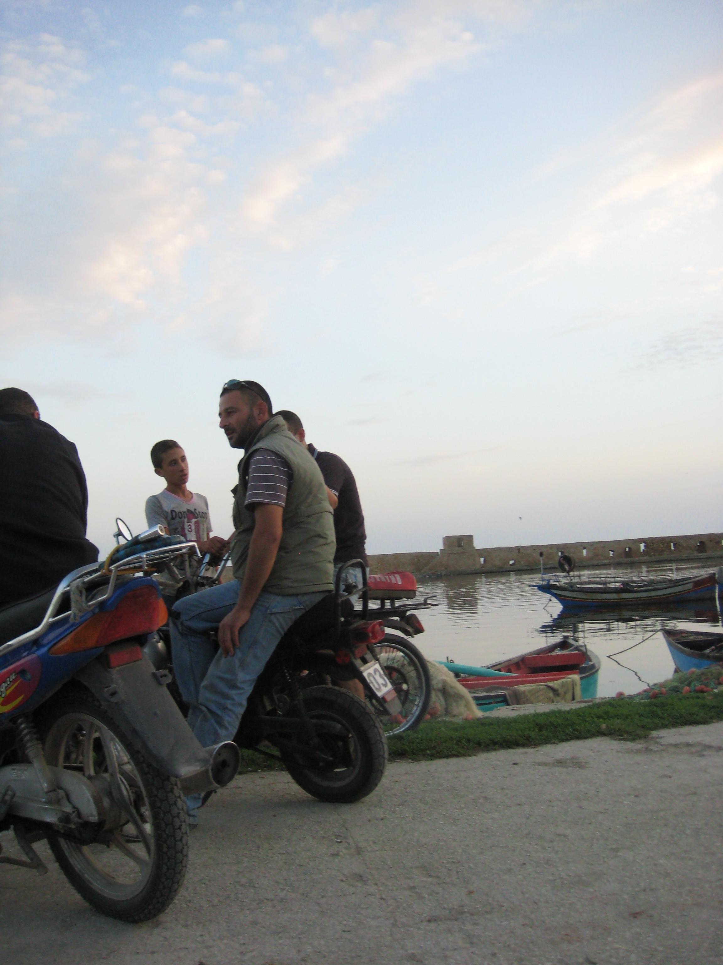 Rassemblement de jeunes tunisiens