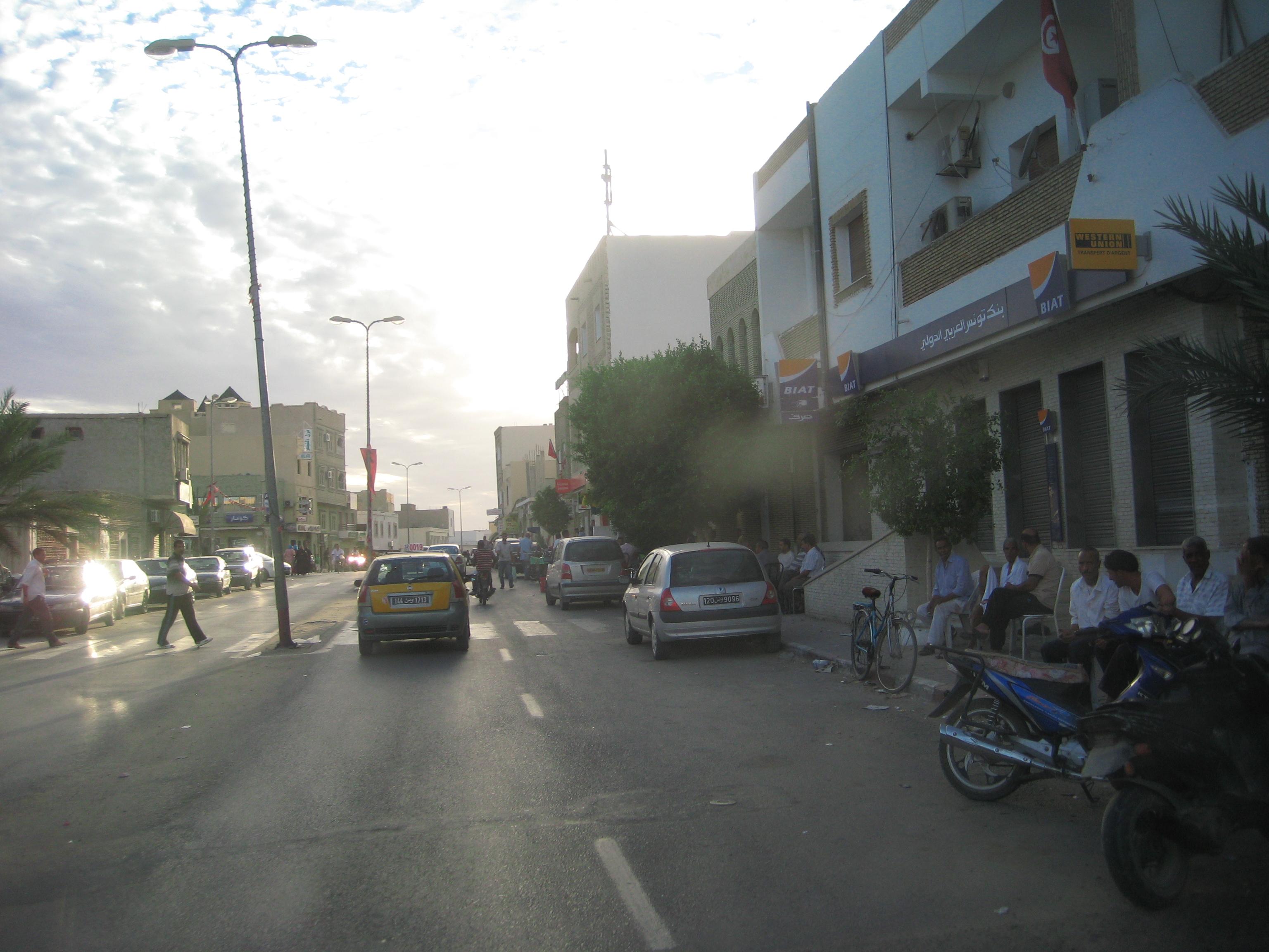 scène de vie tunisienne