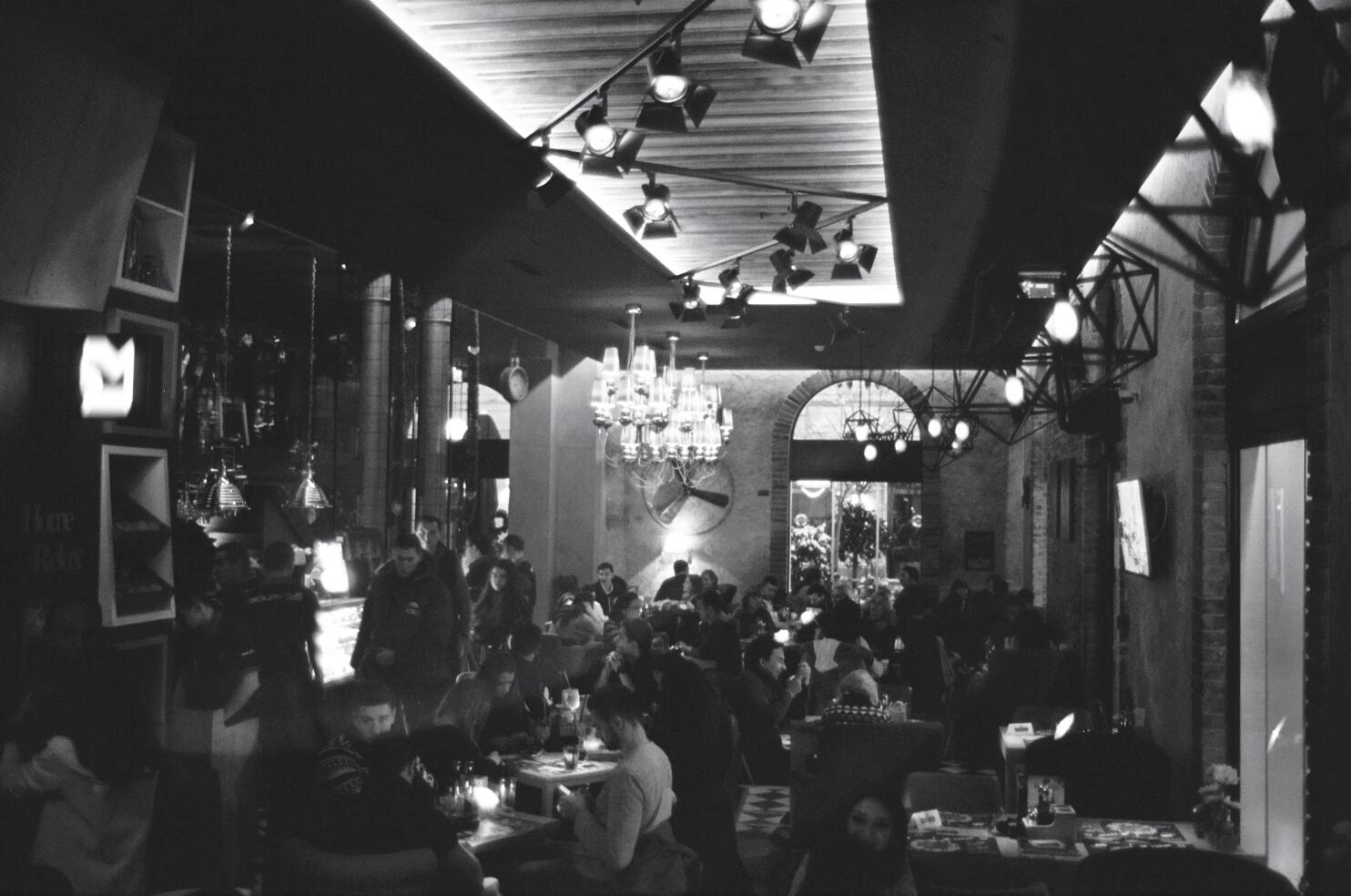 Un bar à Belgrade
