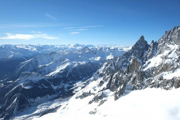Les Alpes côté italien à Courmayeur