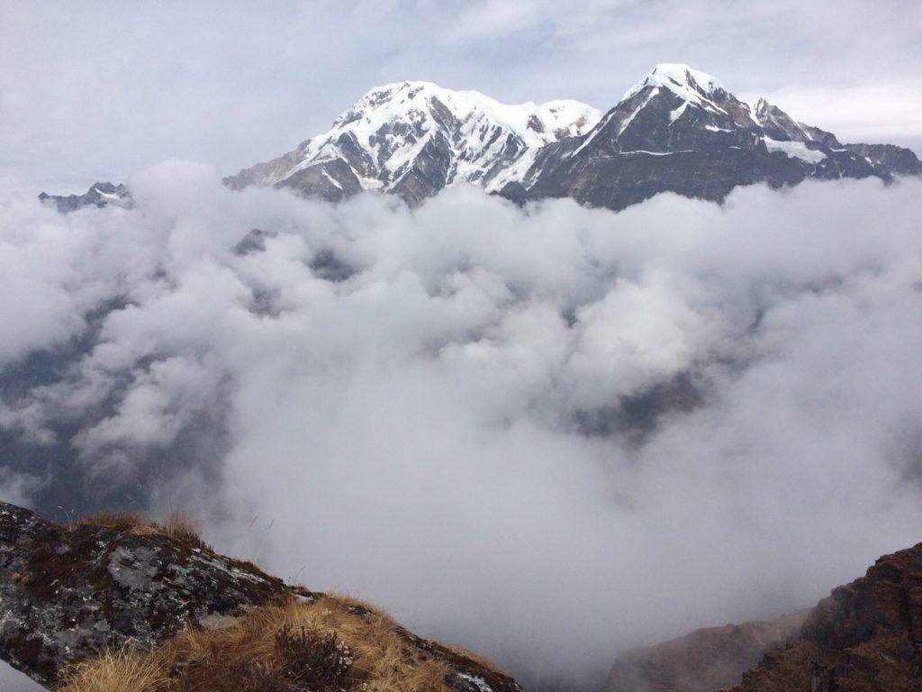 Balade sur les très hauts contreforts de l'Himalaya