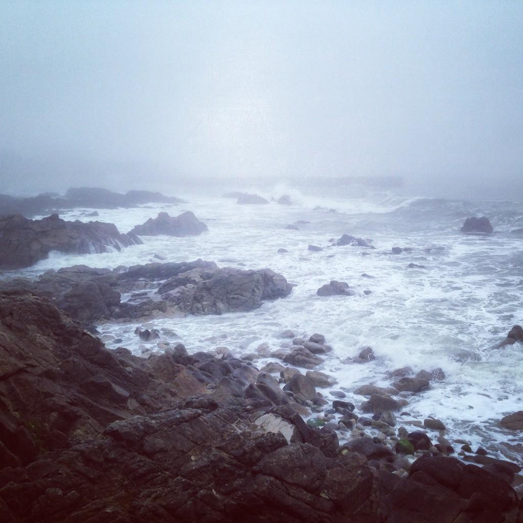 La Bretagne dans le brouillard