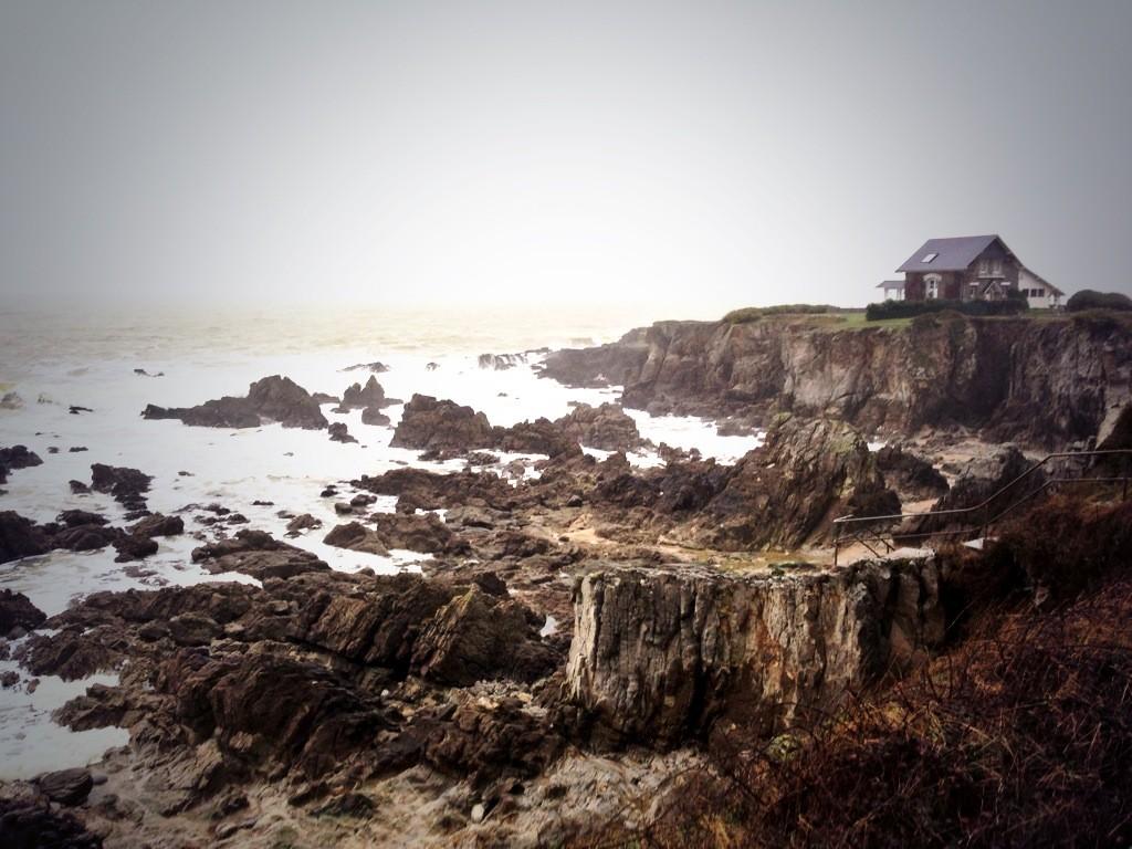 La côte Bretonne l'hiver
