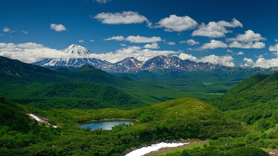 Le parc naturel de Nalitchevo au Kamchatka