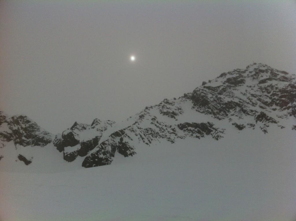 Perdu dans les montagnes blanches du Tyrol